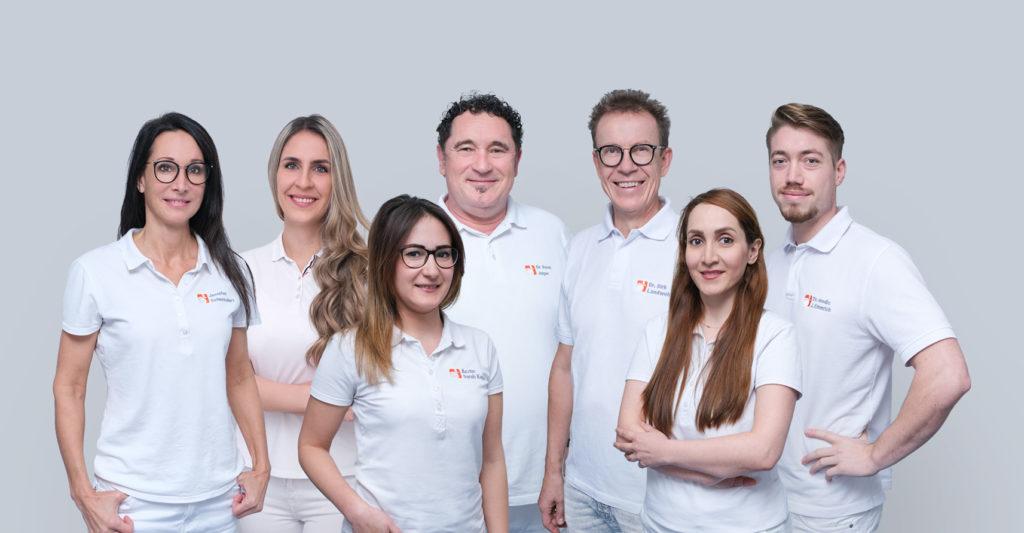 Team der Hautärzte Saarland